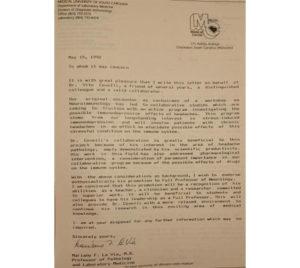 vito covelli attestato medical university south carolina