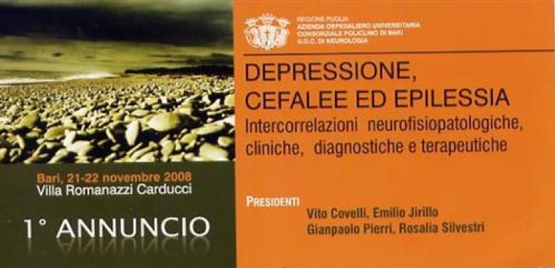 vito covelli congressi depressione cefalee e epilessia