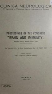 vito covelli pubblicazioni proceedings of the congress brain and immunity